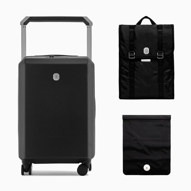 PHOENX PHOENX Tela 40 Cabin Luggage Travel Kit Black Sand